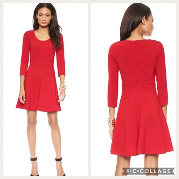 d49433f6986 Diane Von Furstenberg Dresses   Skirts - Diane Von Furstenberg Red Poppy Paloma  Dress